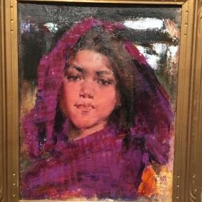 Nicolai Ivanovich Fechin - Taos Indian Girl