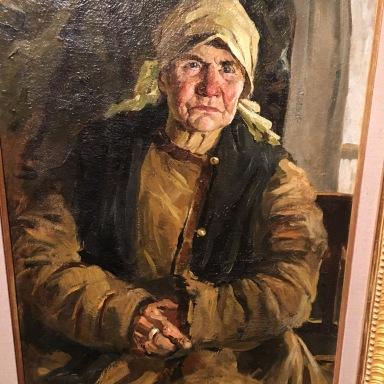 Vasili Mikhailvich Arapov - Babushka: the Artist's Mother